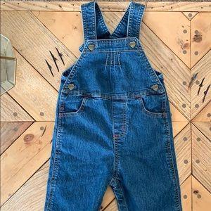 Carhartt girls overalls, size 24 Months